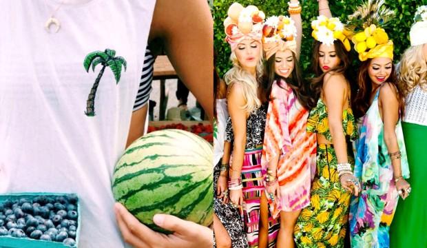 Mode met fruit