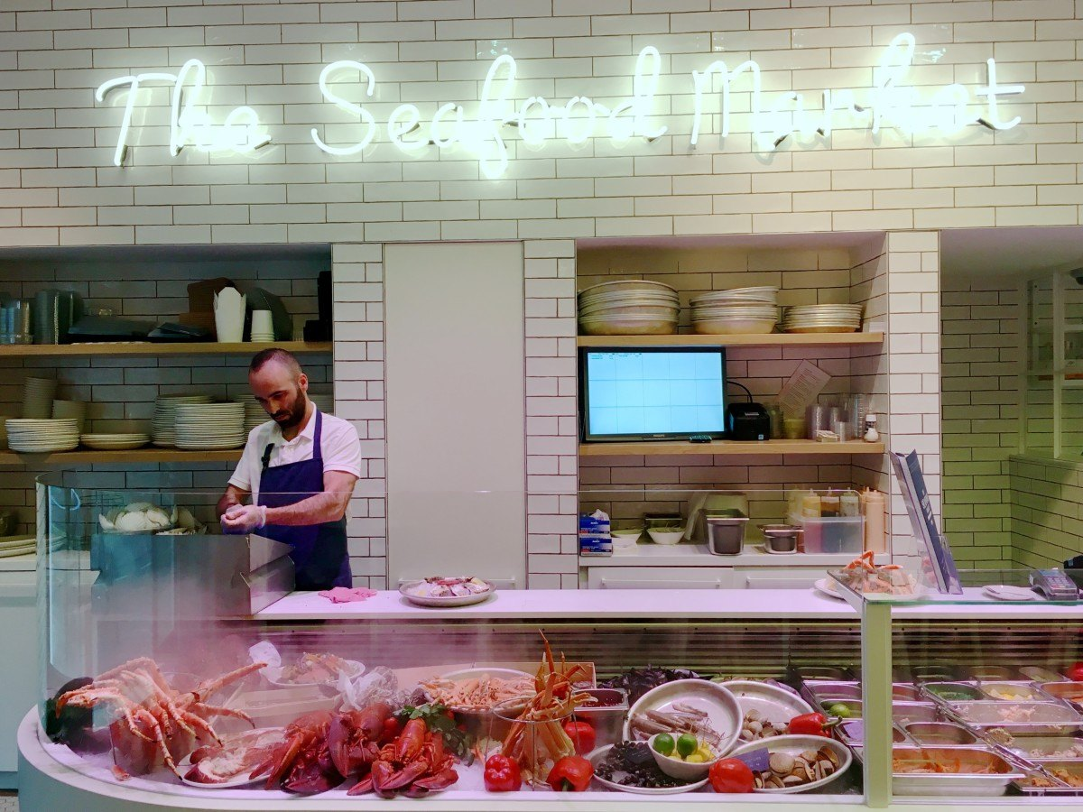 Seafood bar spui amsterdam for Seafood bar spui 15