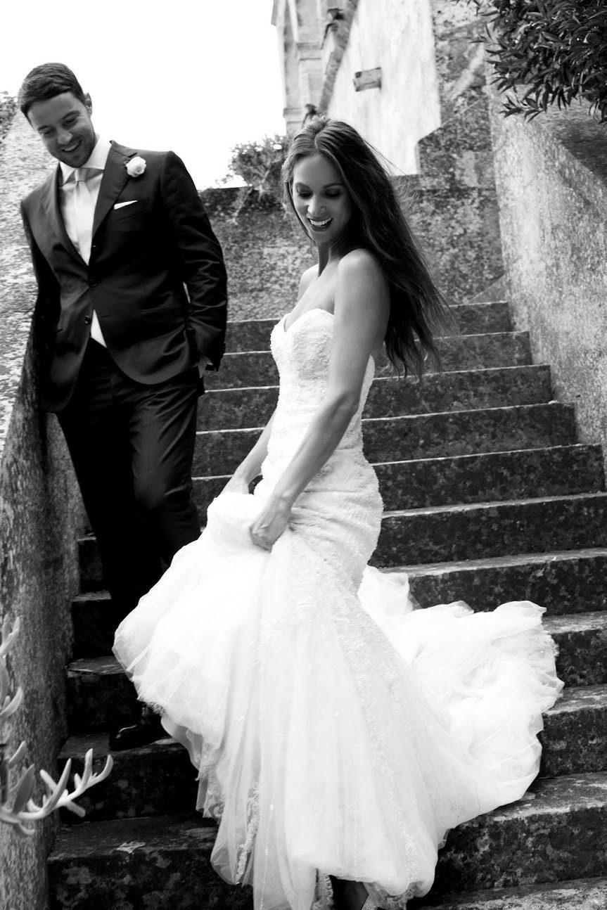La Bella Blanca Wedding dress