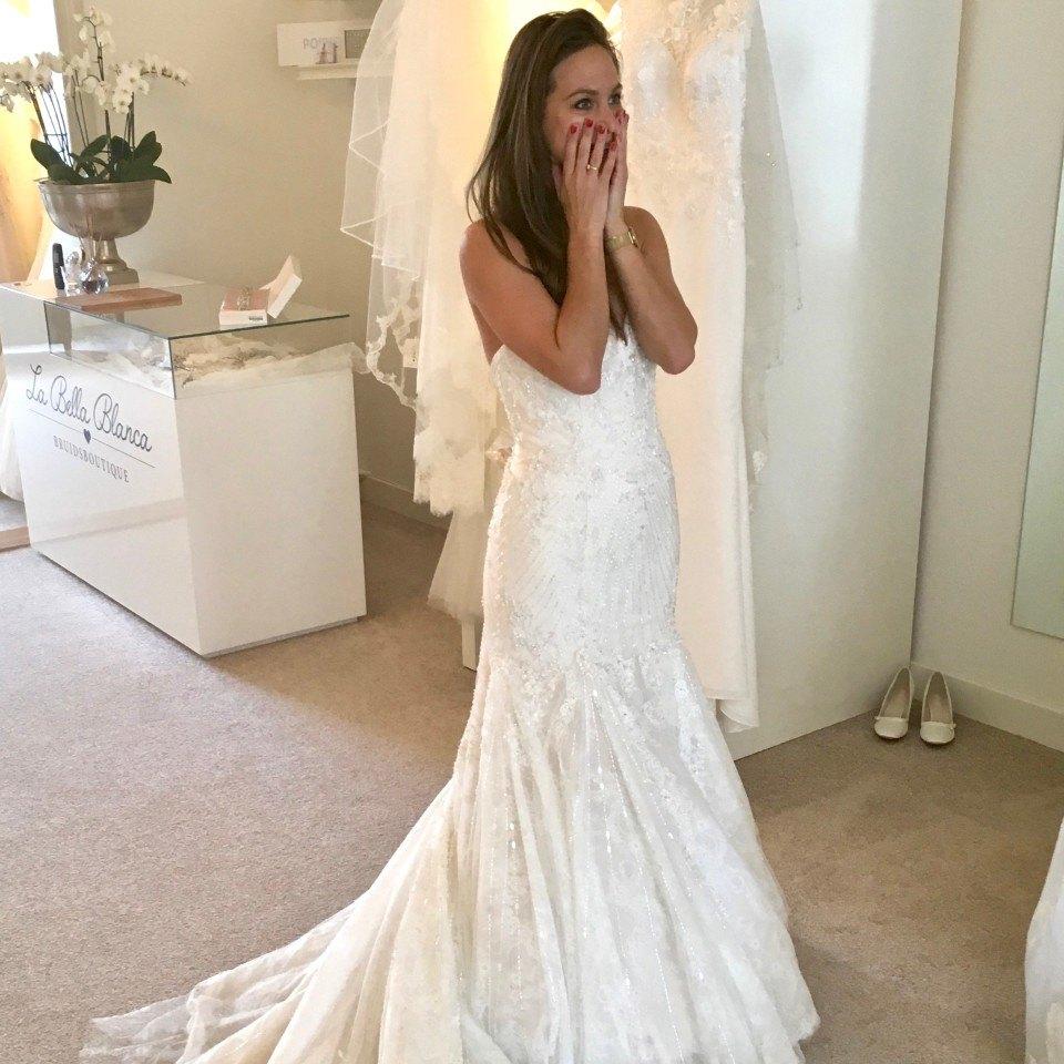 Tips bij passen trouwjurk