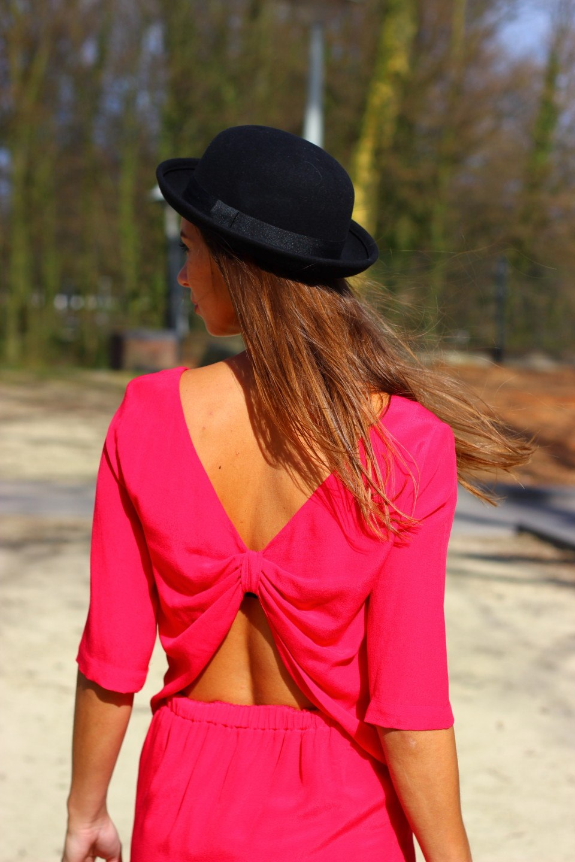 Roze jurk 2