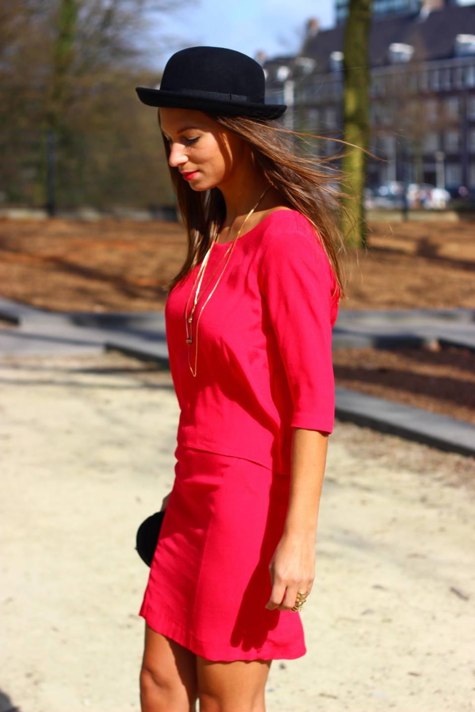 Roze jurk 3