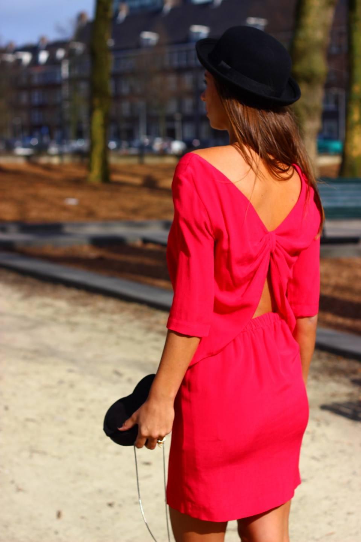 Roze jurk 5