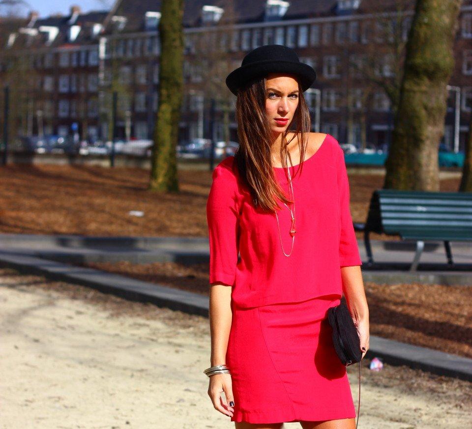 Roze jurk 6