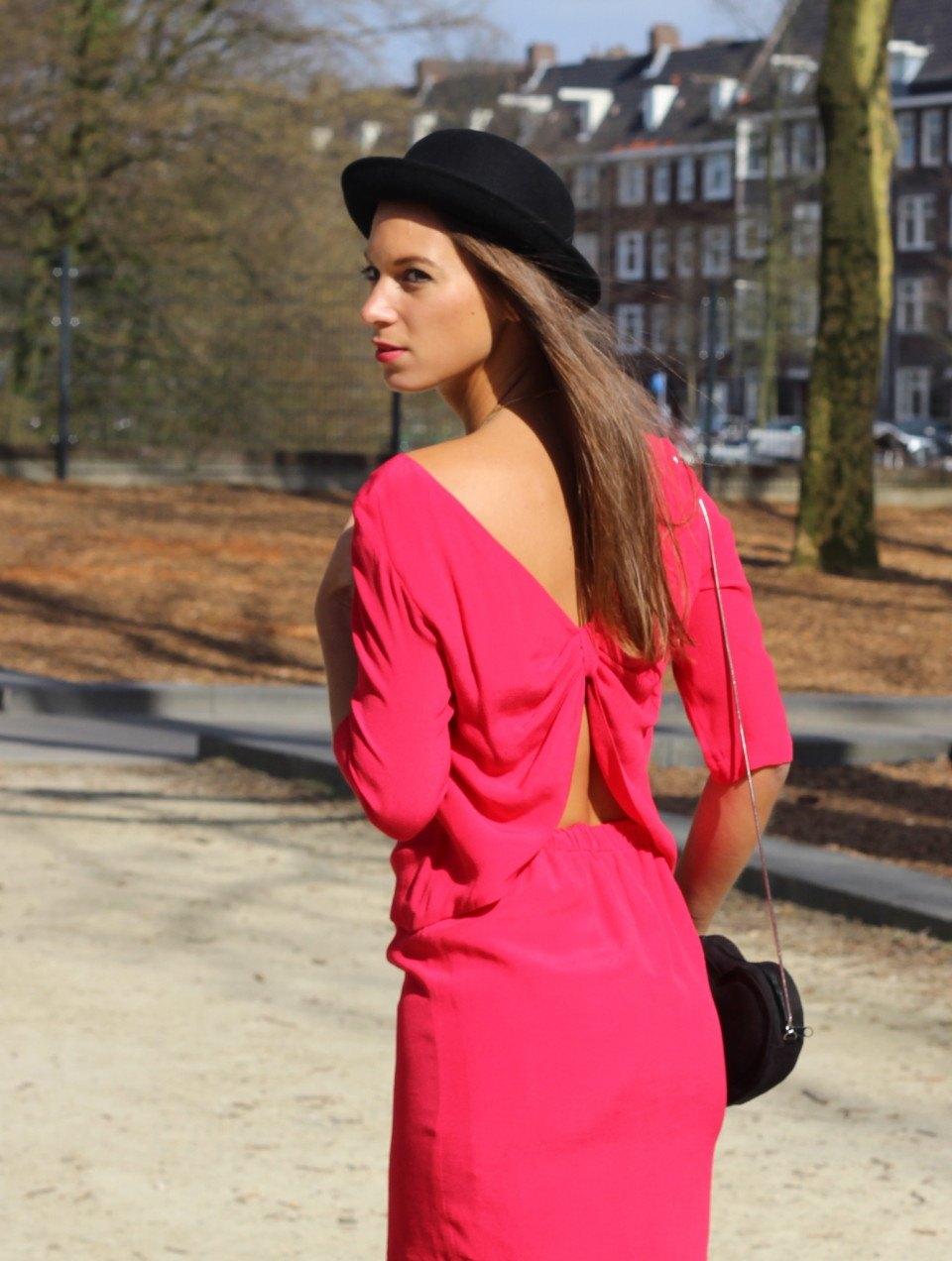 roze jurk 1