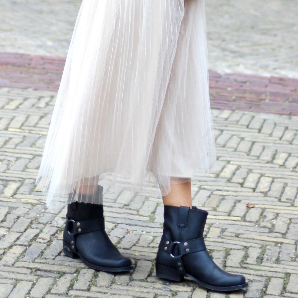 Zwarte cowboy laarzen1