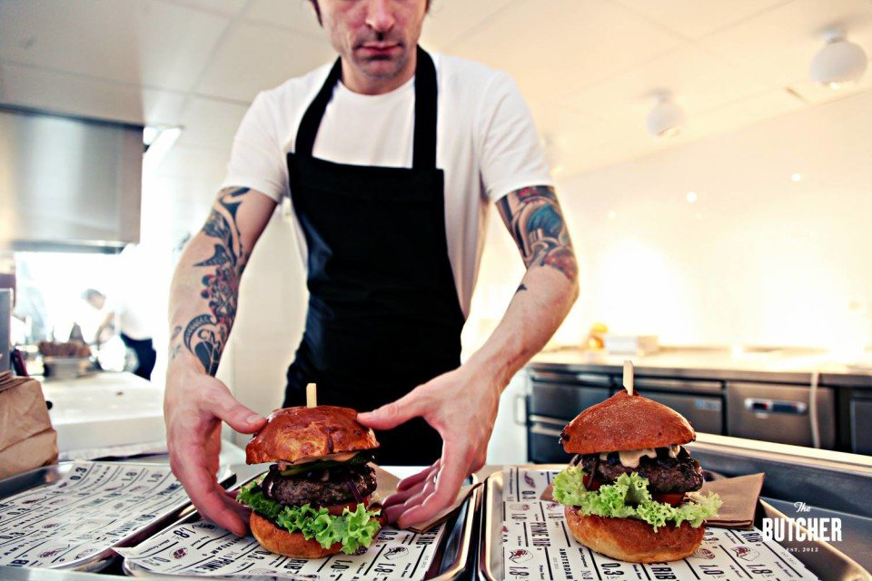 The butcher nieuwe vestiging