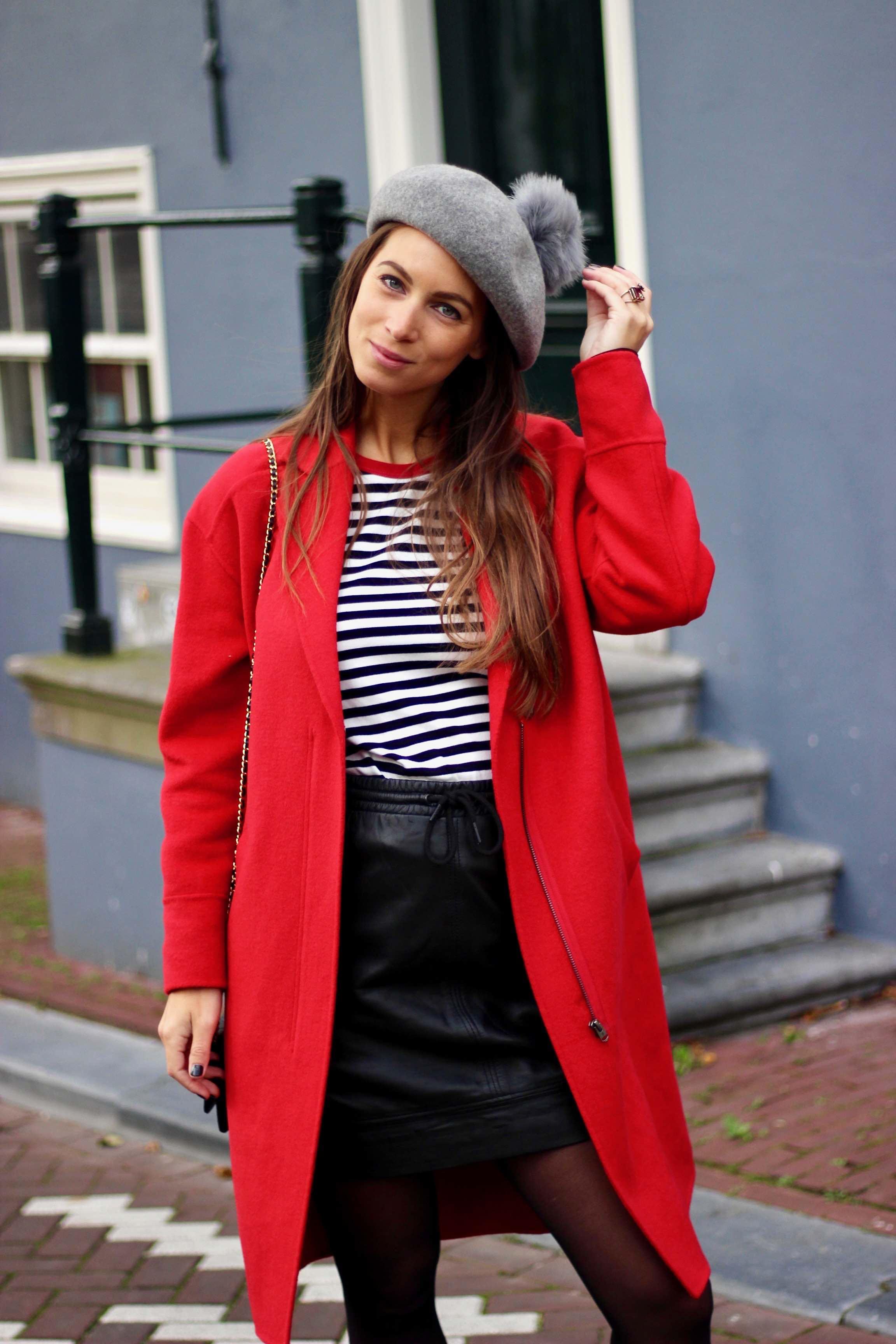 Rode Winterjas.Look Waarom Iedereen Een Rode Winterjas Zou Moeten Hebben Cotton